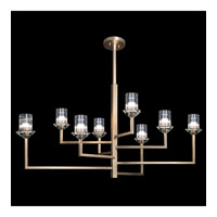 Neuilly 8 Light 48 inch Gold Chandelier Ceiling Light