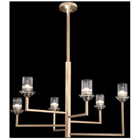Neuilly 6 Light 36 inch Gold Chandelier Ceiling Light