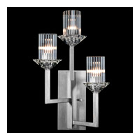 Fine Art Lamps 879750-1ST Neuilly 3 Light 12 inch Silver Sconce Wall Light