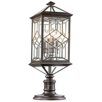 Fine Art Lamps 880380ST Oxfordshire 4 Light 30 inch Bronze Outdoor Adjustable Pier/Post Mount