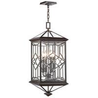 Fine Art Lamps 880481ST Oxfordshire 4 Light 13 inch Bronze Outdoor Lantern