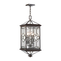 Oxfordshire 4 Light 13 inch Bronze Outdoor Lantern