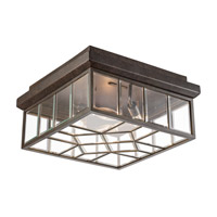 Oxfordshire 4 Light 16 inch Bronze Outdoor Flush Mount