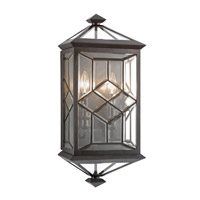 Oxfordshire 2 Light 24 inch Bronze Outdoor Coupe