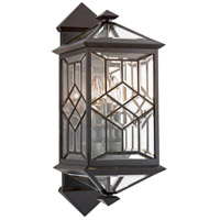 Fine Art Lamps 880981ST Oxfordshire 3 Light 23 inch Bronze Outdoor Wall Mount