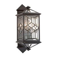 Oxfordshire 3 Light 23 inch Bronze Outdoor Wall Mount