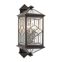 Oxfordshire 4 Light 28 inch Bronze Outdoor Wall Mount