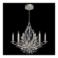 Fine Art Lamps 881140-1ST Lily Buds 6 Light 34 inch Gold Chandelier Ceiling Light