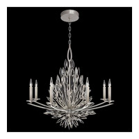 Fine Art Lamps 881240-1ST Lily Buds 8 Light 41 inch Gold Chandelier Ceiling Light