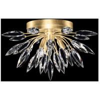 Fine Art Lamps 881440-1ST Lily Buds 3 Light 19 inch Gold Flush Mount Ceiling Light