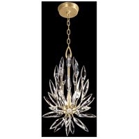 Fine Art Lamps 881540-1ST Lily Buds 3 Light 12 inch Gold Pendant Ceiling Light