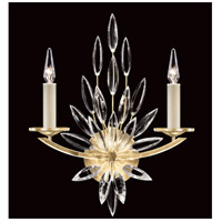 Fine Art Lamps 881750-1ST Lily Buds 2 Light 17 inch Gold Sconce Wall Light