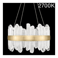Fine Art Lamps 882040-21ST Lior LED 21 inch Gold Pendant Ceiling Light