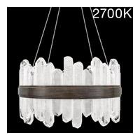 Fine Art Lamps 882040-31ST Lior LED 21 inch Bronze Pendant Ceiling Light