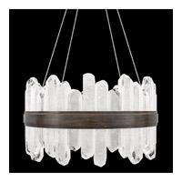 Fine Art Lamps 882040-3ST Lior LED 21 inch Bronze Pendant Ceiling Light