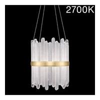 Fine Art Lamps 882140-21ST Lior LED 21 inch Gold Pendant Ceiling Light