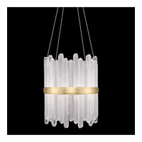 Fine Art Lamps 882140-2ST Lior LED 21 inch Gold Pendant Ceiling Light