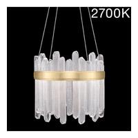 Fine Art Lamps 882240-21ST Lior LED 21 inch Gold Pendant Ceiling Light