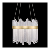 Fine Art Lamps 882240-2ST Lior LED 21 inch Gold Pendant Ceiling Light