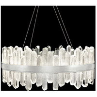 Fine Art Lamps 882340-1ST Lior LED 31 inch Silver Pendant Ceiling Light
