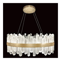 Fine Art Lamps 882340-2ST Lior LED 31 inch Gold Pendant Ceiling Light