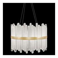 Fine Art Lamps 882440-2ST Lior LED 31 inch Gold Pendant Ceiling Light