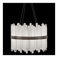 Fine Art Lamps 882440-3ST Lior LED 31 inch Bronze Pendant Ceiling Light