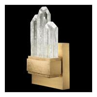Fine Art Lamps 882450-2ST Lior LED 5 inch Gold Pendant Ceiling Light