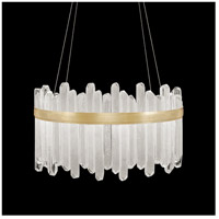 Fine Art Lamps 882540-2ST Lior LED 31 inch Gold Pendant Ceiling Light