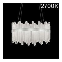 Fine Art Lamps 882540-11ST Lior LED 31 inch Silver Pendant Ceiling Light