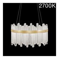 Fine Art Lamps 882540-21ST Lior LED 31 inch Gold Pendant Ceiling Light