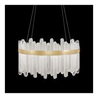 Fine Art Lamps 882540-2ST Lior LED 31 inch Gold Pendant Ceiling Light