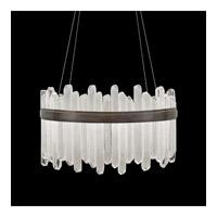 Fine Art Lamps 882540-3ST Lior LED 31 inch Bronze Pendant Ceiling Light