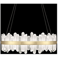 Fine Art Lamps 882640-2ST Lior LED 41 inch Gold Pendant Ceiling Light