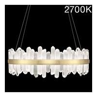 Fine Art Lamps 882640-21ST Lior LED 41 inch Gold Pendant Ceiling Light