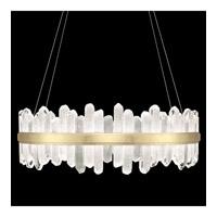 Fine Art Lamps 882640-2ST Lior LED 41 inch Gold Pendant Ceiling Light