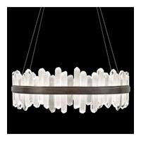Fine Art Lamps 882640-3ST Lior LED 41 inch Bronze Pendant Ceiling Light