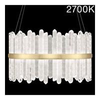 Fine Art Lamps 882740-21ST Lior LED 41 inch Gold Pendant Ceiling Light