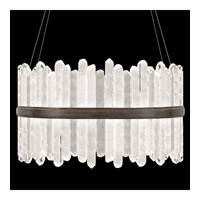 Fine Art Lamps 882740-3ST Lior LED 41 inch Bronze Pendant Ceiling Light