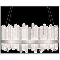 Fine Art Lamps 882840-1ST Lior LED 41 inch Silver Pendant Ceiling Light