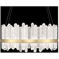 Fine Art Lamps 882840-2ST Lior LED 41 inch Gold Pendant Ceiling Light