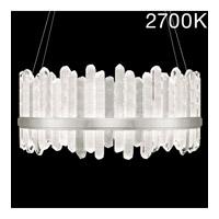 Fine Art Lamps 882840-11ST Lior LED 41 inch Silver Pendant Ceiling Light
