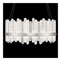 Fine Art Lamps 882840-1ST Lior LED 41 inch Silver Pendant Ceiling Light