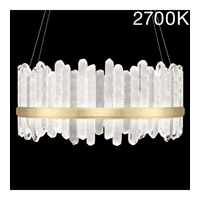 Fine Art Lamps 882840-21ST Lior LED 41 inch Gold Pendant Ceiling Light
