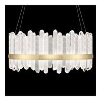 Fine Art Lamps 882840-2ST Lior LED 41 inch Gold Pendant Ceiling Light