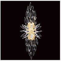 Fine Art Lamps 883550-1ST Lily Buds 2 Light 13 inch Gold Sconce Wall Light