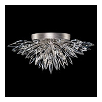 Lily Buds 4 Light 26 inch Silver Flush Mount Ceiling Light
