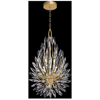 Fine Art Lamps 883840-1ST Lily Buds 7 Light 24 inch Gold Pendant Ceiling Light