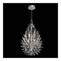 Lily Buds 6 Light 24 inch Silver Pendant Ceiling Light