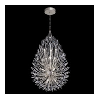 Fine Art Lamps 883940-1ST Lily Buds 12 Light 34 inch Gold Pendant Ceiling Light